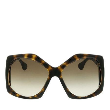 Gucci  Sonnenbrille - GG0875S-002 62 Sunglass WOMAN INJECTION - in cognac - für Damen