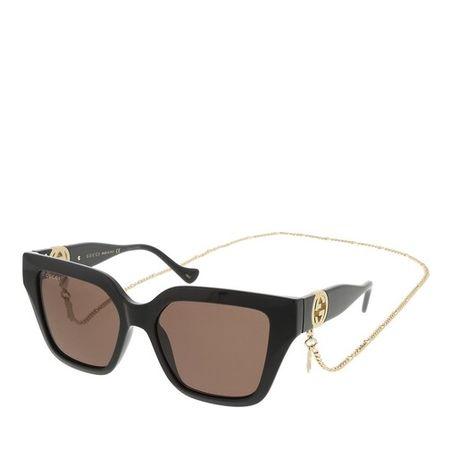 Gucci  Sonnenbrille - GG1023S-005 54 Sunglass Woman Injection - in black - für Damen