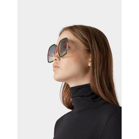 Gucci Sonnenbrille in eckiger Form