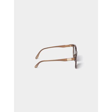 Gucci Sonnenbrille mit Bügel-Details grau