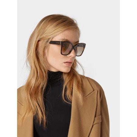 Gucci Sonnenbrille mit Farbverlauf grau
