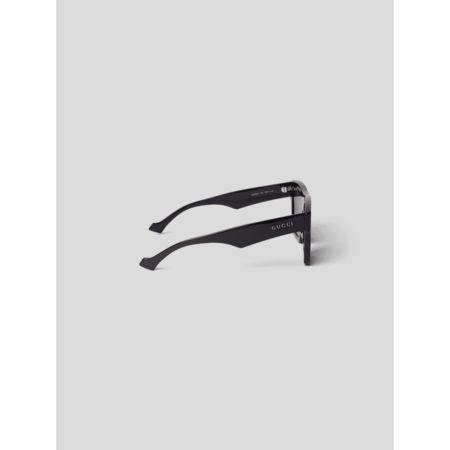 Gucci Sonnenbrille mit Label-Details