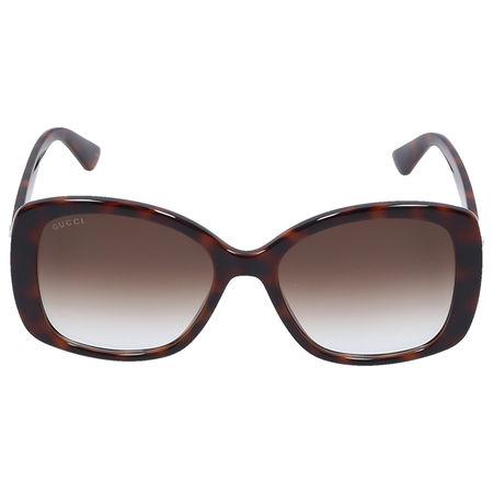 Gucci Sonnenbrille Round 0762S 002 Schildkröte