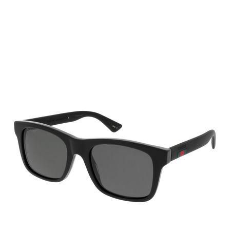 Gucci  Sonnenbrillen - GG0008S - in schwarz - für Damen grau