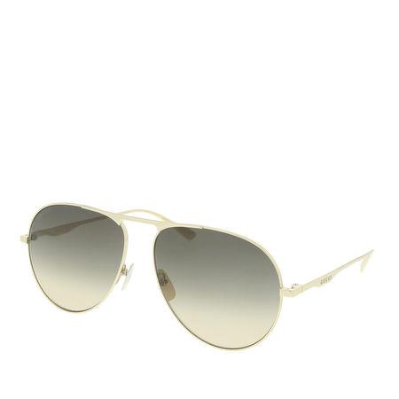 Gucci  Sonnenbrillen - GG0334S 001 60 - in gold - für Damen grau