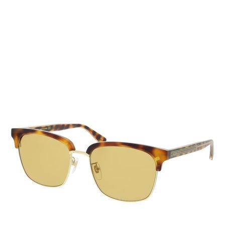Gucci  Sonnenbrillen - GG0382S-004 56 Sunglass MAN ACETATE - in cognac - für Damen orange