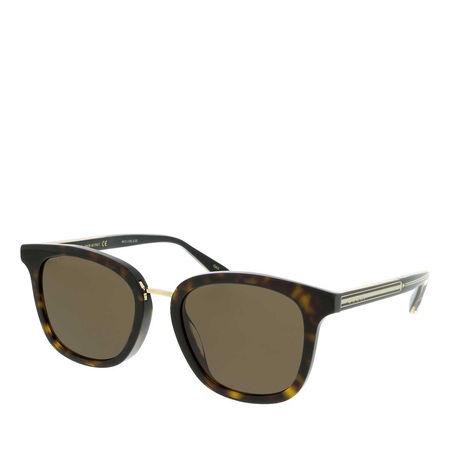 Gucci  Sonnenbrillen - GG0851SK-003 53 Sunglass MAN ACETATE - in cognac - für Damen braun