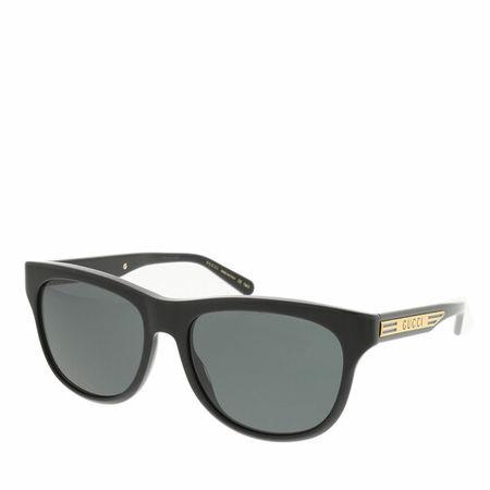 Gucci  Sonnenbrillen - GG0980S-001 55 Sunglass MAN ACETATE - in black - für Damen