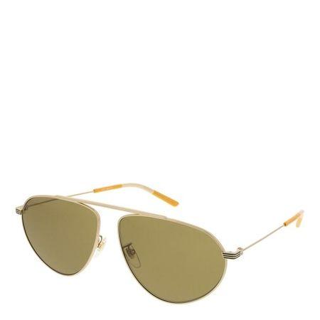 Gucci  Sonnenbrillen - GG1051S-002 61 Sunglass Man Metal - in gold - für Damen