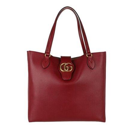 Gucci  Tote - Dhalia Tote Bag Leather - in rot - für Damen