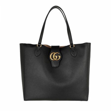 Gucci  Tote - Dhalia Tote Bag Leather - in schwarz - für Damen