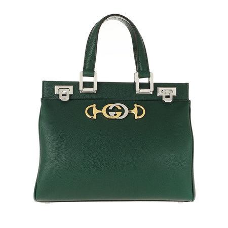Gucci  Tote  -  Zumi Handle Bag Small Vintage Green  - in grün  -  Tote für Damen gruen