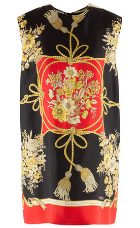 Gucci  - Tunika aus Seide schwarz