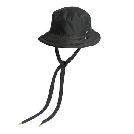 Gucci Wendbarer Hut aus GGCanvas und Nylon grau