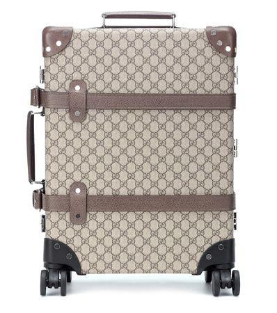 Gucci X Globe-Trotter Trolley braun