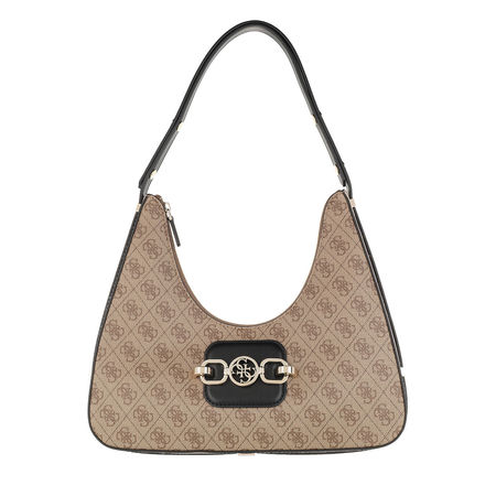 Guess  Hobo Bag - Hensely Hobo Bag - in beige - für Damen braun