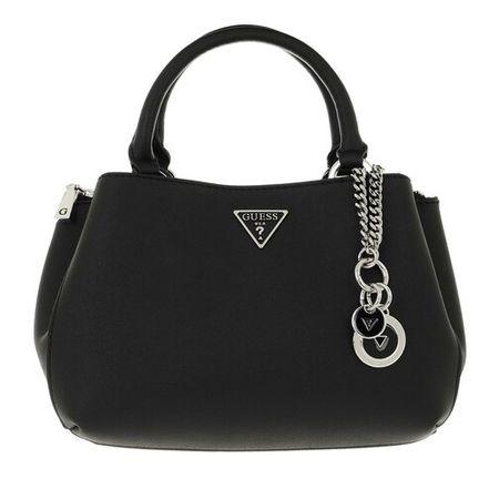 Guess  Satchel Bag - Ambrose Sml Turnlock Satchel - in schwarz - für Damen