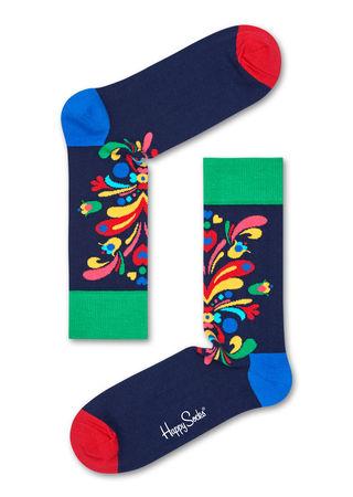 Happy Socks  DACH Kurbits Socken Unisex grau