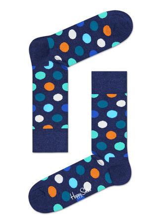 Happy Socks  DE Big Dot Socken Unisex grau