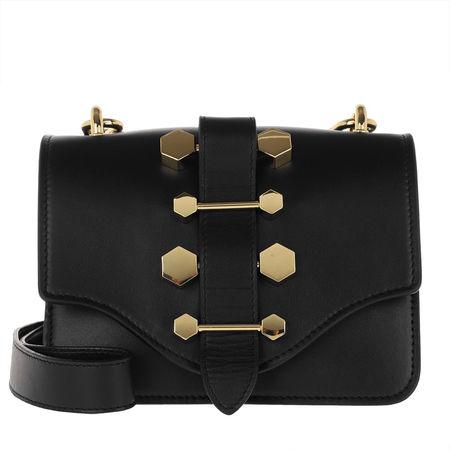 Hibourama  Umhängetasche  -  Tiffany Bande Crossbody Bag Black  - in schwarz  -  Umhängetasche für Damen schwarz