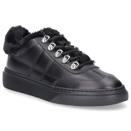 Hogan Sneaker low Metallisch schwarz grau