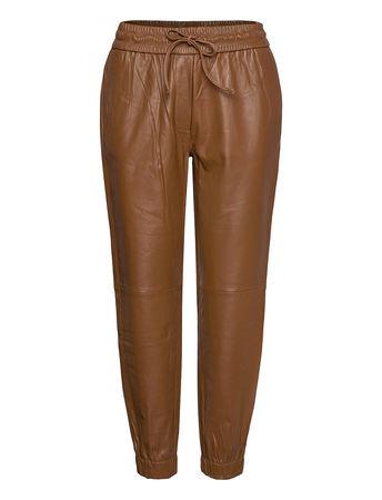 Day Birger et Mikkelsen Day Thousand Leather Leggings/Hosen Braun