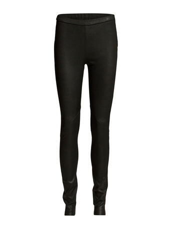 Day Birger et Mikkelsen Day Plongy Leather Leggings/Hosen Schwarz  schwarz