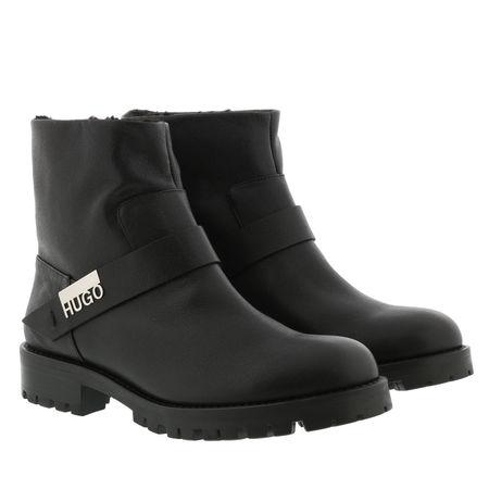 Hugo  Boots  -  Victoria Biker Boots Black  - in schwarz  -  Boots für Damen schwarz