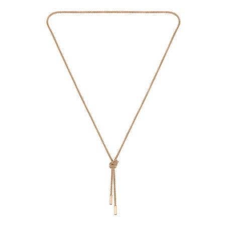 HUGO BOSS Boss Halskette  -  Rosette Necklace Roségold  - in roségold  -  Halskette für Damen braun