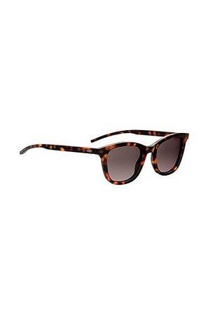 HUGO BOSS Havanna-Sonnenbrille aus Acetat schwarz