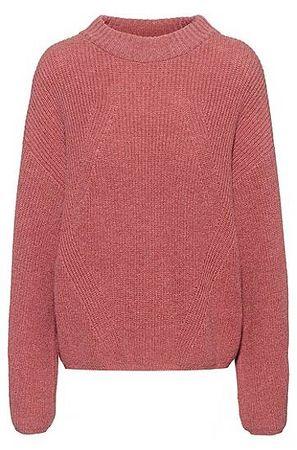 HUGO BOSS Oversized Pullover aus Alpaka-Mix rot
