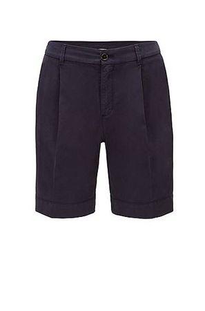 HUGO BOSS Relaxed-Fit Chino-Shorts aus elastischer Bio-Baumwolle