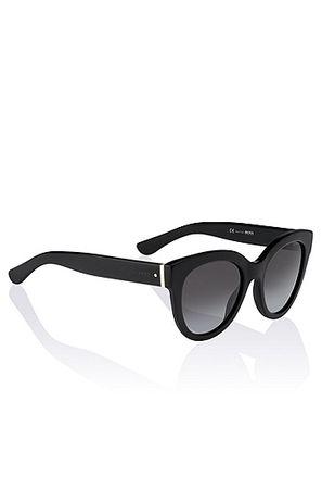 HUGO BOSS Sonnenbrille ´BOSS 0675` aus Acetat und Metall grau