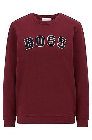 HUGO BOSS Sweatshirt aus Bio-Baumwolle mit Logo-Artwork