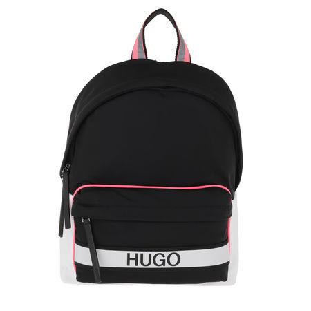 Hugo  Rucksack  -  Record Backpack Black  - in bunt  -  Rucksack für Damen schwarz