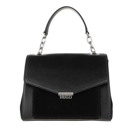 Hugo  Satchel Bag  -  Victoria Tophandle Bag Black  - in schwarz  -  Satchel Bag für Damen schwarz