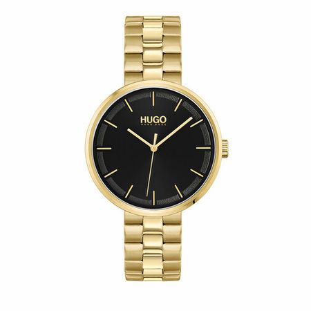 Hugo  Uhr - Watch Crush - in gold - für Damen