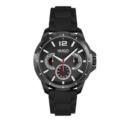Hugo  Uhren - multifunctional watch - in black - für Damen