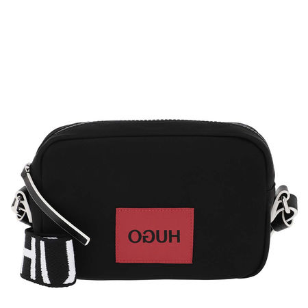 Hugo  Umhängetasche  -  Record Crossbody Bag Black  - in schwarz  -  Umhängetasche für Damen schwarz