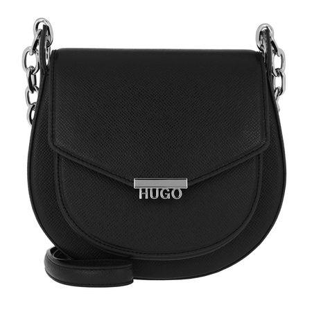 Hugo  Umhängetasche  -  Victoria Saddle Bag Black  - in schwarz  -  Umhängetasche für Damen schwarz