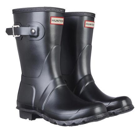 Hunter  Boots & Stiefeletten - Womens Original Short Nebula - in schwarz - für Damen