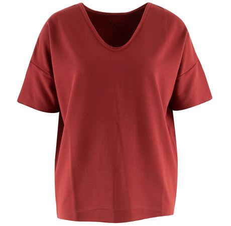 iheart  - Shirt Rima aus Viskose rot