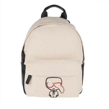 Karl Lagerfeld  Rucksäcke - K/Ikonik Canvas Backpack - in beige - für Damen braun