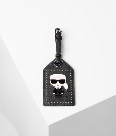 Karl Lagerfeld K/Ikonik Gepäckanhänger weiss