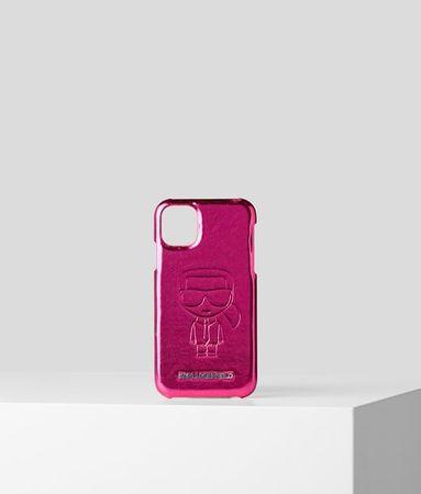 Karl Lagerfeld K/Ikonik Metallic iPhone 11 Pro Max Cover grau