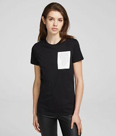 Karl Lagerfeld K/Ikonik T-Shirt grau