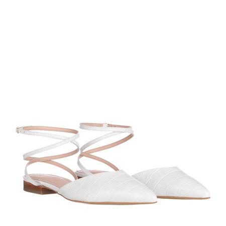 Inch2  Sandalen  -  Torino Flats White  - in weiß  -  Sandalen für Damen grau