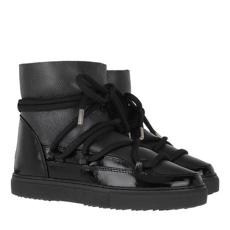 INUIKII  Boots  -  Women Sneaker Gloss Black  - in schwarz  -  Boots für Damen schwarz