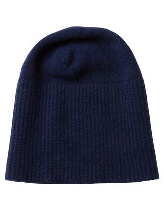 Inverni Woll-Mütze – blau grau