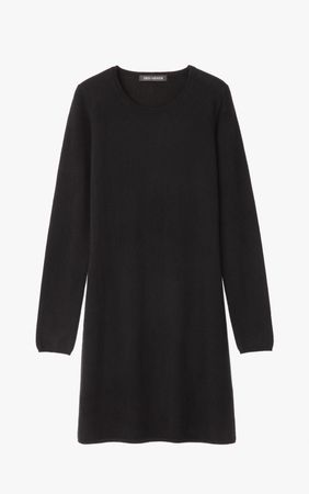 Iris von Arnim Cashmere Kleid weiss